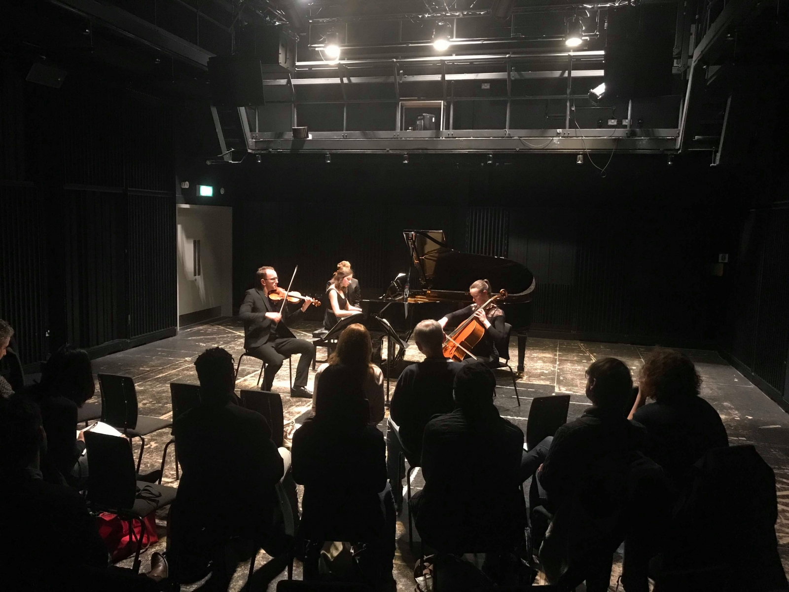 Brook Piano Trio plays Schubert