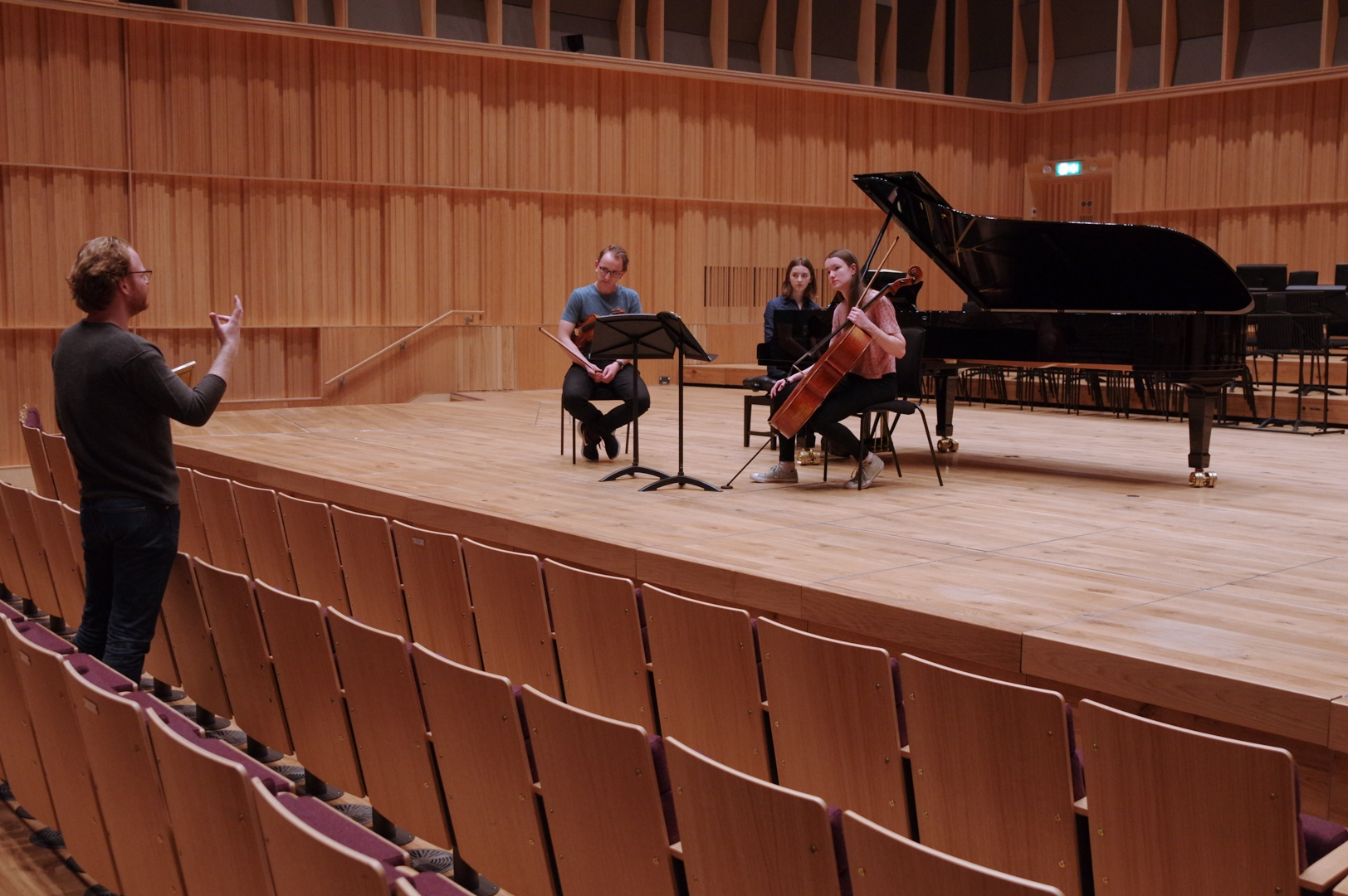 Brook Piano Trio Coaching