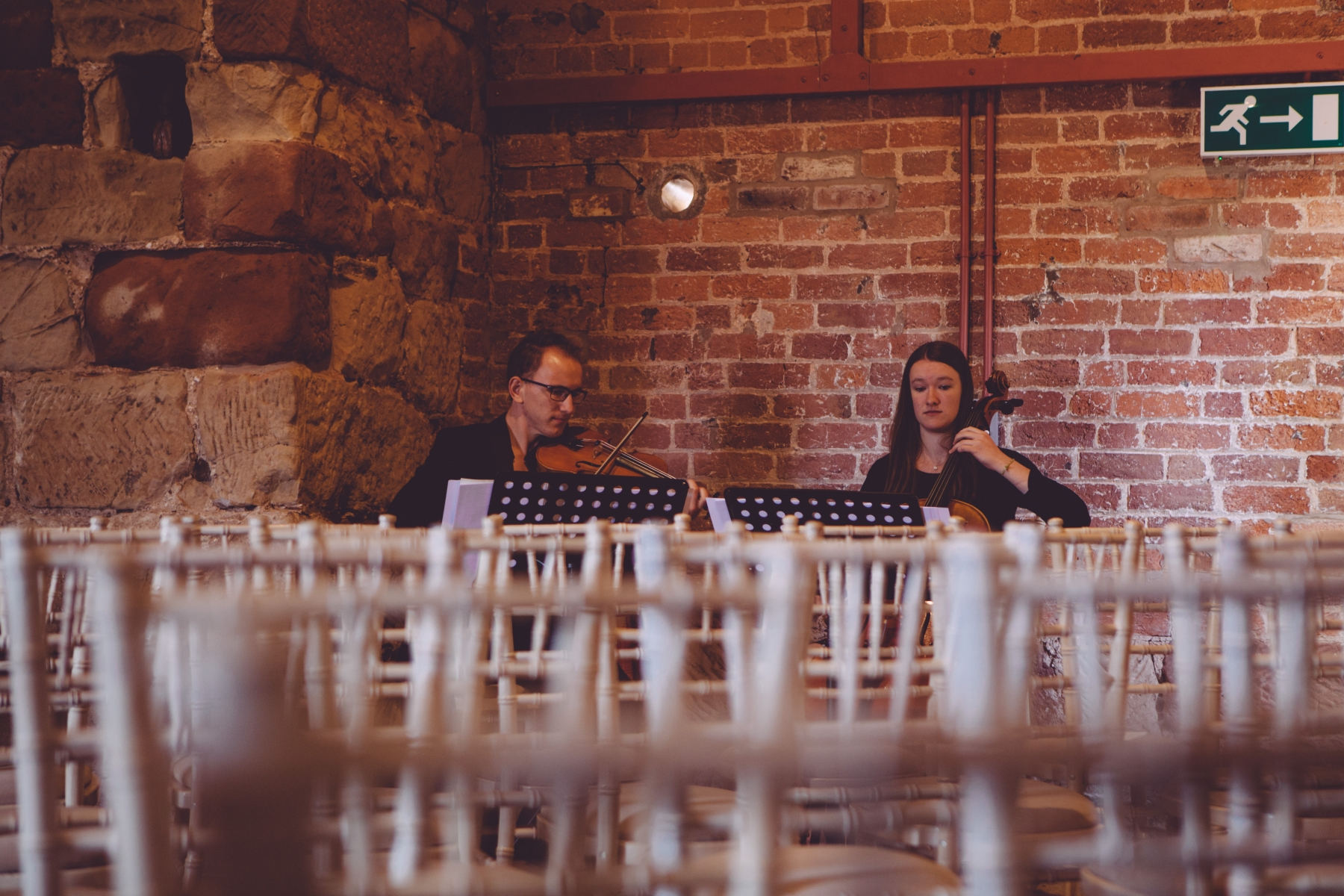 Florrel String Duo Wedding Photo 2